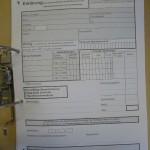 Formular für die Alkoholverwaltung